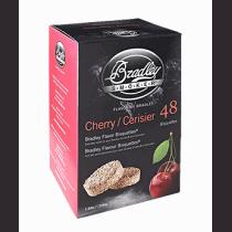 Bisquettes saveur cerise de Bradley - quantité 24