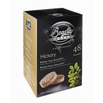 Bisquettes saveur hickory de Bradley - quantité 24