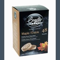 Bisquettes saveur érable de Bradley - quantité 24