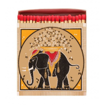 Allumettes Archivist Collector Gold Elephant 11 cm