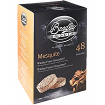Bisquettes BRADLEY SMOKER Mesquite