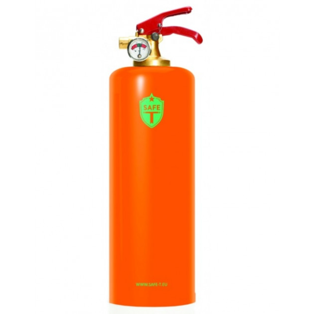 Extincteur SAFE-T Métal Orange