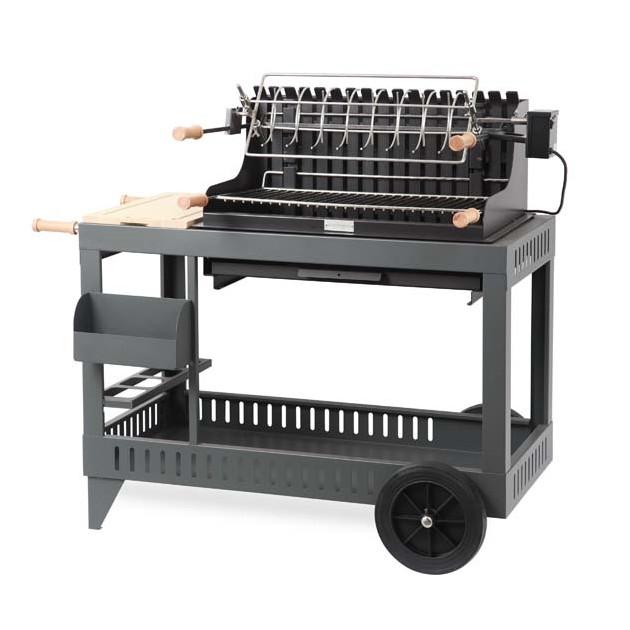 barbecue charbon et son chariot le marquier itsuritz. Black Bedroom Furniture Sets. Home Design Ideas