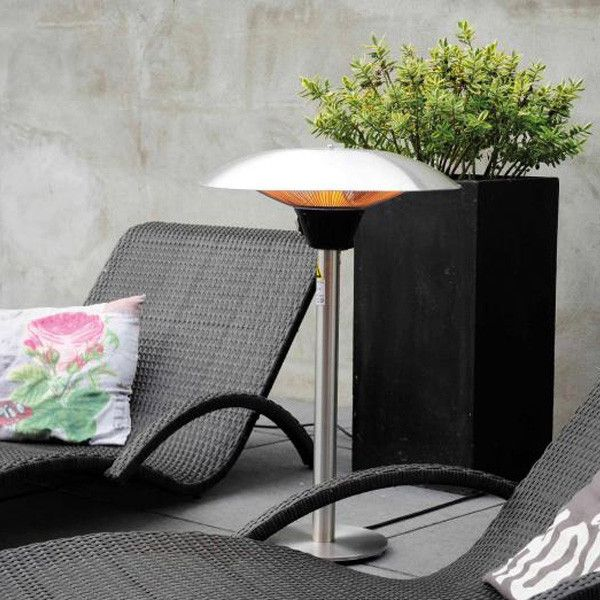 parasol electrique chauffant parasol chauffant lectrique riviera elite gris w max acheter. Black Bedroom Furniture Sets. Home Design Ideas
