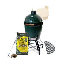 Pack barbecue kamado Big Green Egg Large EGGsentiel avec chariot