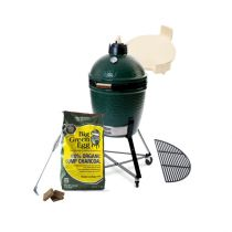 PACK ESSENTIEL BIG GREEN EGG M + CHARIOT