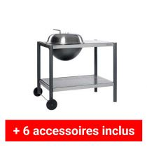 Pack plus barbecue charbon Dancook 1500