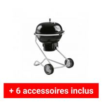 Pack plus barbecue charbon Rosle Air F60