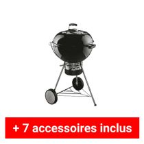 Pack plus barbecue charbon Weber Master Touch 57 noir