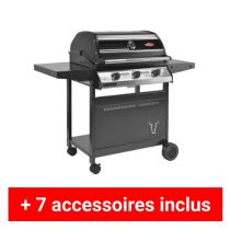 Pack plus barbecue gaz Beefeater 1000R 3 feux