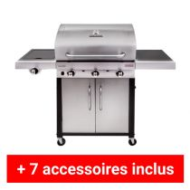 Pack Plus barbecue gaz Charbroil performance 340S
