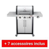 Pack Plus barbecue gaz Charbroil Professionnel 3400S