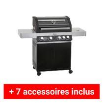 Pack plus barbecue gaz Rosle Videro G4