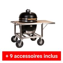 Pack plus barbecue kamado Monolith Chef sur buggy