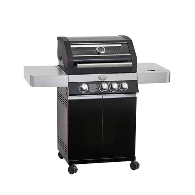 Station barbecue gaz Rosle Videro G3 noir 3 feux