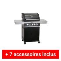 Pack plus barbecue gaz Rosle Videro G3
