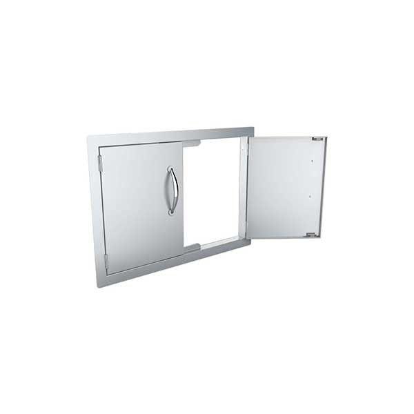 petite porte horizontale double pour cuisine d 39 ext rieur sunstone. Black Bedroom Furniture Sets. Home Design Ideas