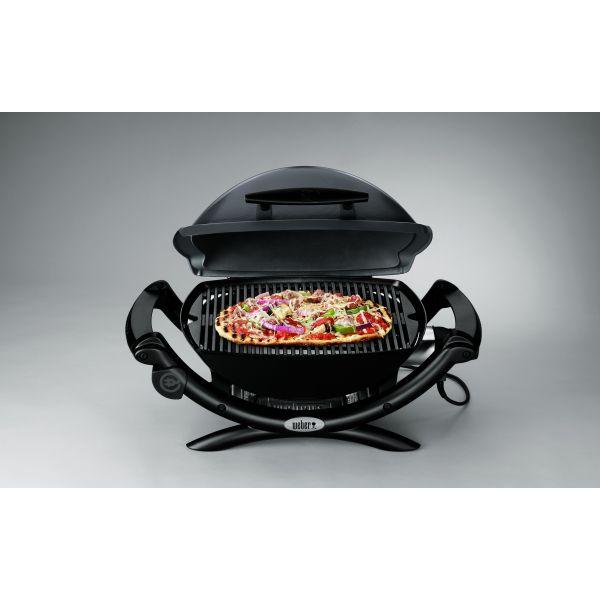 barbecue lectrique weber q1400 gris clair. Black Bedroom Furniture Sets. Home Design Ideas