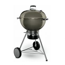 Barbecue charbon Weber Master-Touch 57 gris fumé