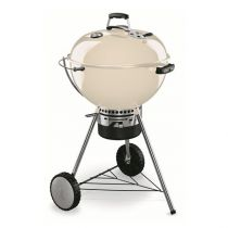 Barbecue charbon Master-Touch blanc crème Weber