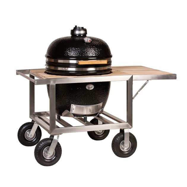Barbecue Kamado Fumoir Monolith Le Chef Noir sur Buggy