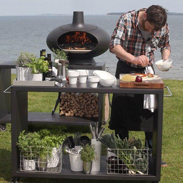 le mod le forno 70 cm sur table le barbecue charbon de bois morso. Black Bedroom Furniture Sets. Home Design Ideas