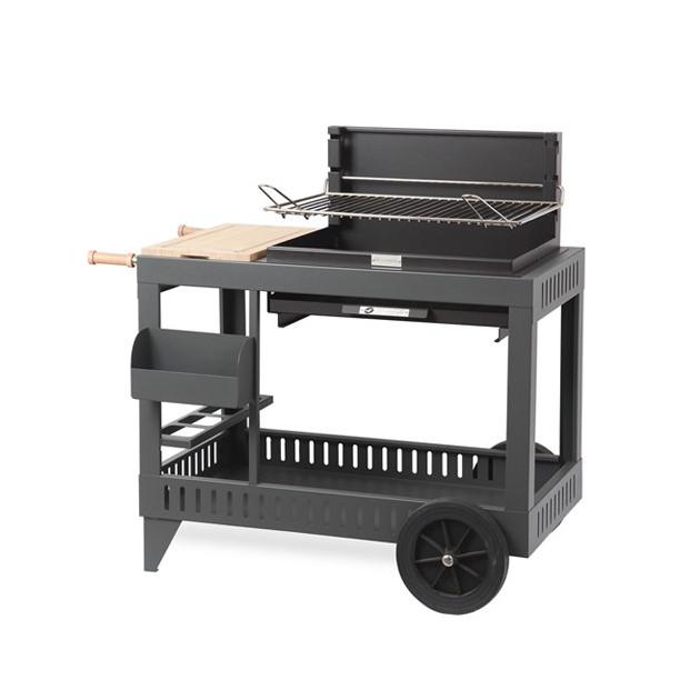 Barbecue charbon de bois Le Marquier Montory acier