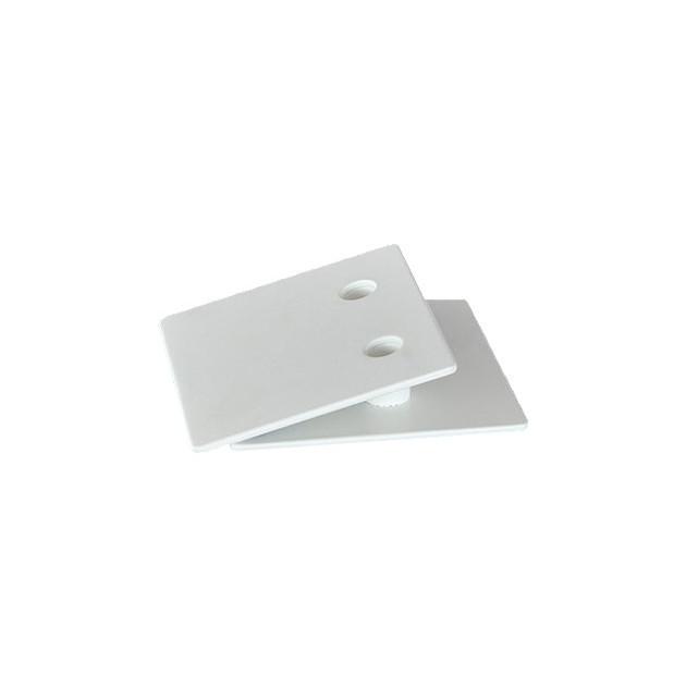 Socle Buffadoo 2 empreintes blanc
