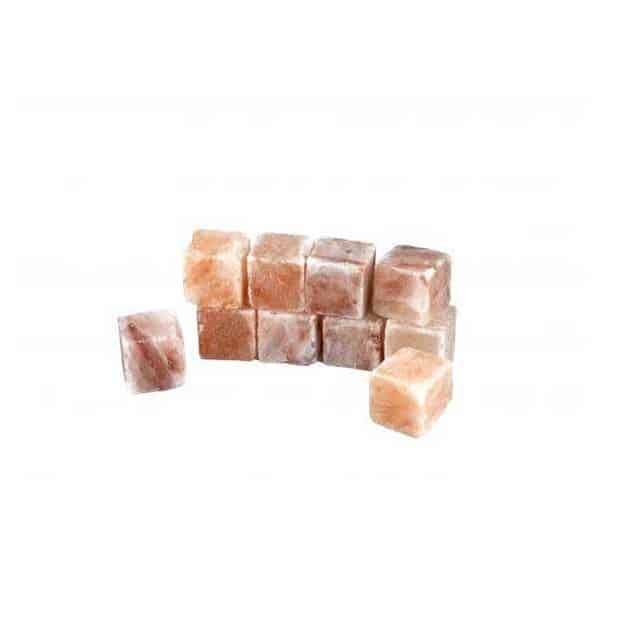 Cubes glaçons en sel de l'Himalaya, lot de 10