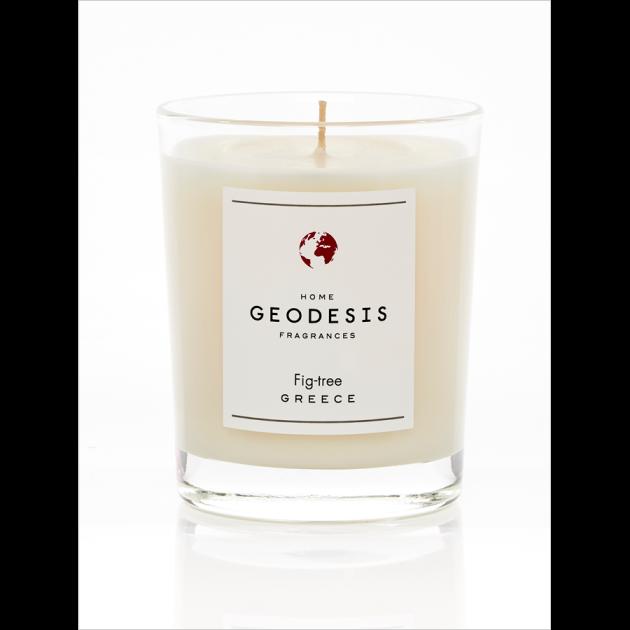 Bougie Parfumée Geodesis 180 g - Figuier