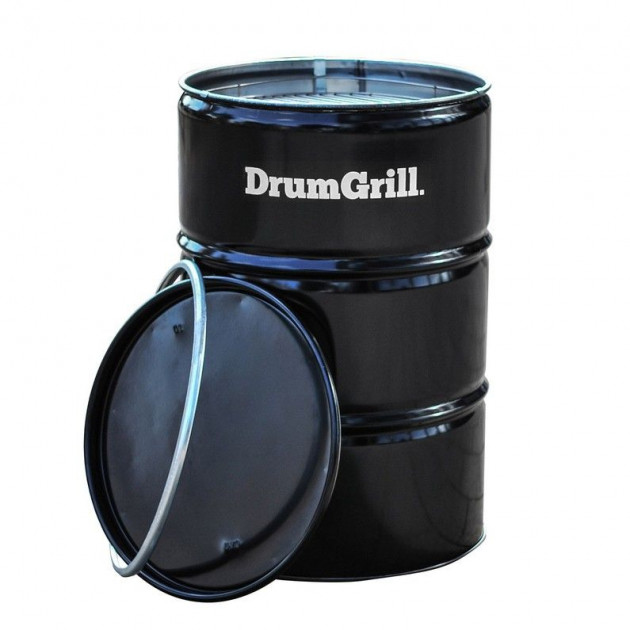 Barbecue charbon Drum Grill  Barrel Q
