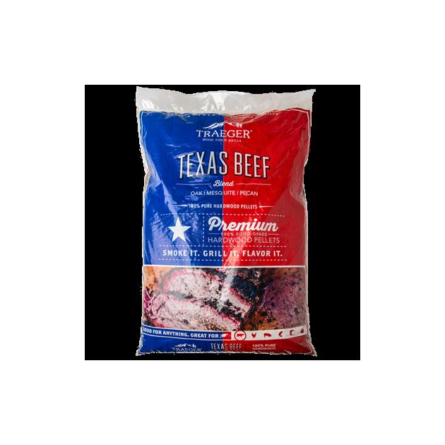 Sac de pellets Traeger Texas Beef  9kg
