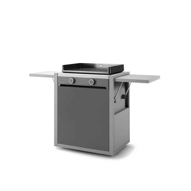PACK PROMO N°44 : Plancha électrique Forge Adour Modern électrique 60 inox avec capot en acier