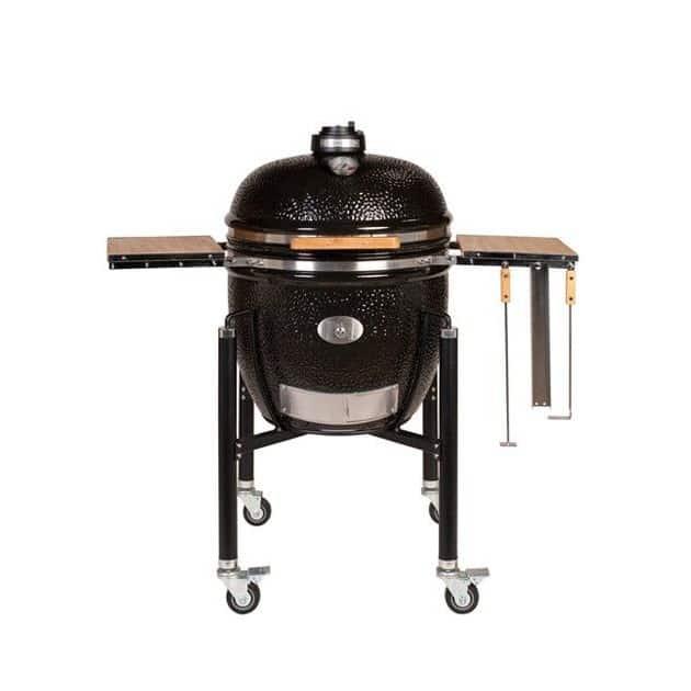 Barbecue Kamado Fumoir Monolith Le Chef Noir sur chariot