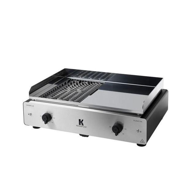 Plancha électrique et barbecue Krampouz Duo K