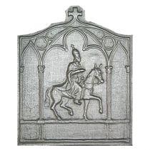 Plaque fonte Charlemagne 44 x 52 cm