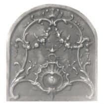 Plaque décorée Rybacki coquilles 44x47
