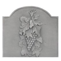 Plaque fonte Raisins 48 x 44 cm