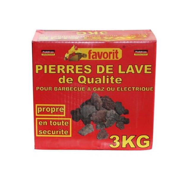 Pierres de lave Favorit 3 kg