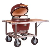 Barbecue Kamado Fumoir Monolith Le Chef Rouge sur Buggy