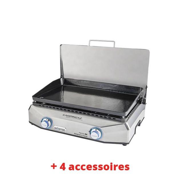 Pack System N° 74  Plancha gaz Campingaz Master EX