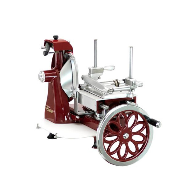 Trancheuse manuelle Wismer retro rouge 250mm