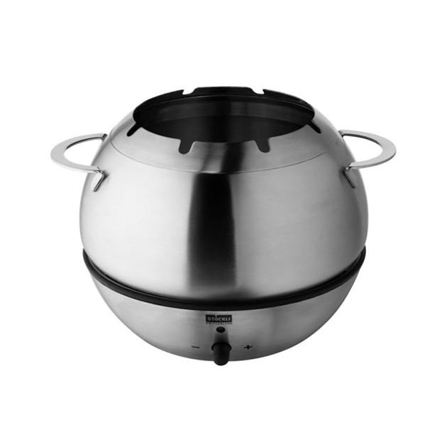 Service à fondue Stockli Hot Bowl inox