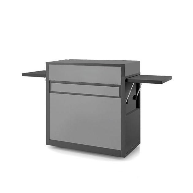 PACK PROMO Plancha gaz Forge Adour Premium gaz 75 inox avec capot en acier