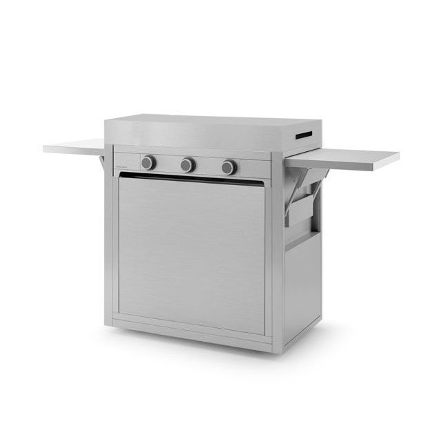 PACK SYSTEM FA MODERN GAZ 75 INOX+CHARIOT CAP IN - FORGE 005