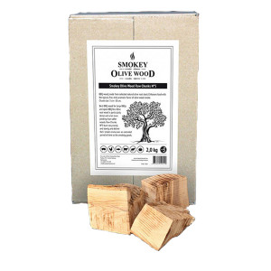 Morceaux d'olivier fumage Smokey Olive Wood N°5