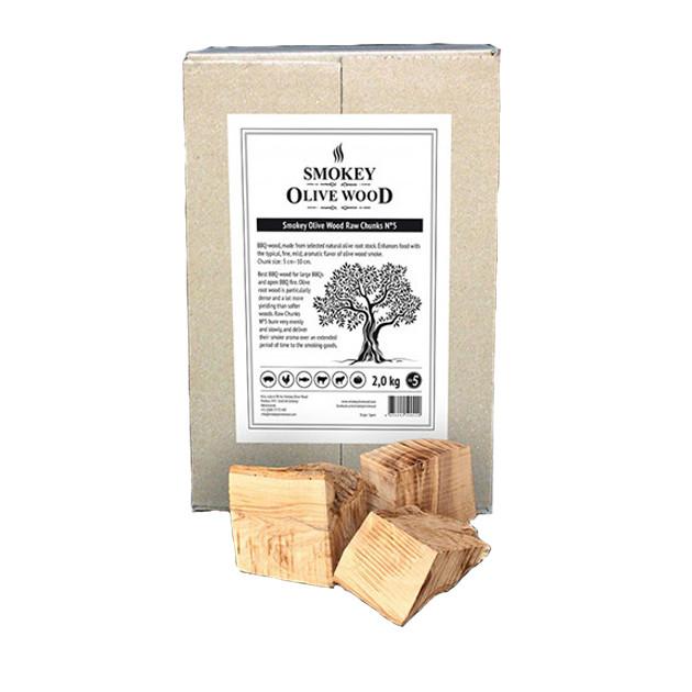 Morceaux/Chunks Olivier N°5 Smokey Olive Wood