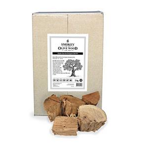 Morceaux de chêne vert Smokey Olive Wood N°4