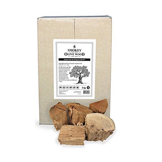 Morceaux Chêne Vert N°4 Smokey Olive Wood