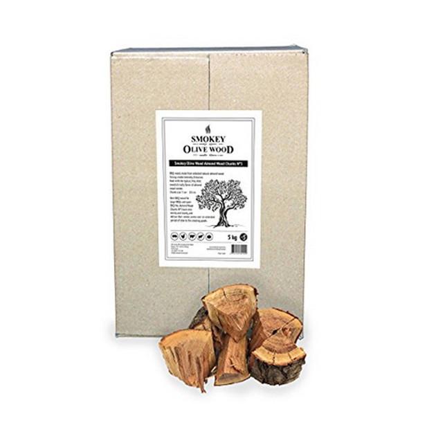 Morceaux d'Amandier N°4 Smokey Olive Wood